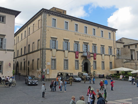 Civic Museum in Orvieto Italy