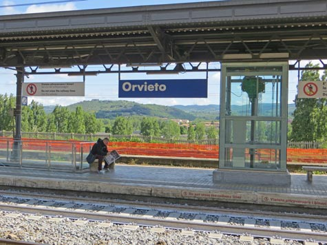Orvieto Train Station