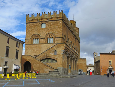 People's Palace in Orvieto Italy