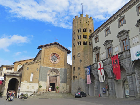 Sant Andrea Church, Orvieto Italy